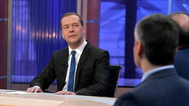 Медведев: втечении следующего года инфляция будет самой низкой завсю историю Российской Федерации