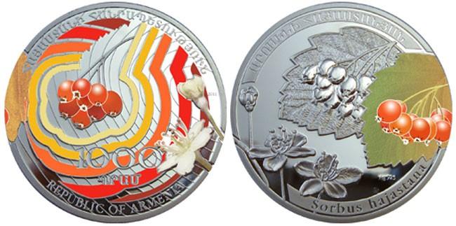 Описание монеты рябина 2011 сколько стоит 2 доллара 1976 года